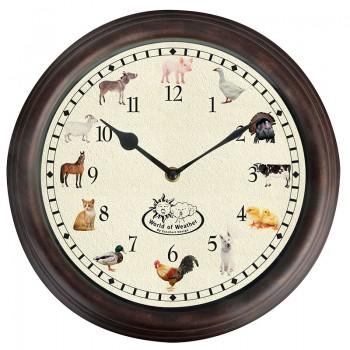 ref.DCT-TF013 - Relógio com sons de animais da quinta