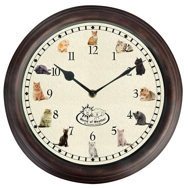 code DCT-TF015 - Cat sounds wall clock