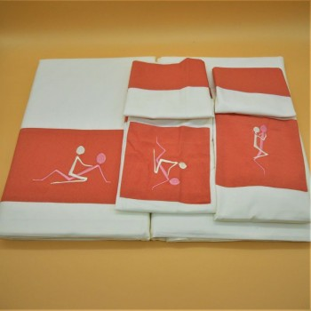 code 050219-240x285-BJ-SA-Kamasutra 0 bed sheet set 240x285 - salmon