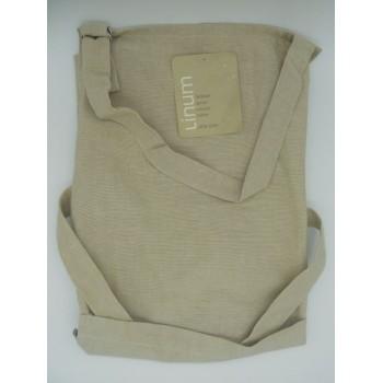 code 050411-G5 - Bib apron - Fred - grey linen