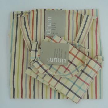 ref.050419/20-N5 - Conjunto de avental de adulto e de criança a condizer - Rudolphe/Clown
