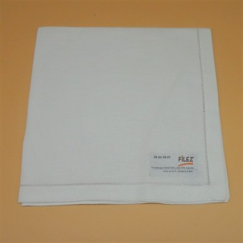 code 050468-BR-40x40 - Napkin - White - set of 2
