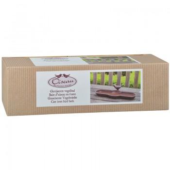 ref.DCT-BR25 - Bebedouro oval em caixa gift - Pássaro - caixa gift