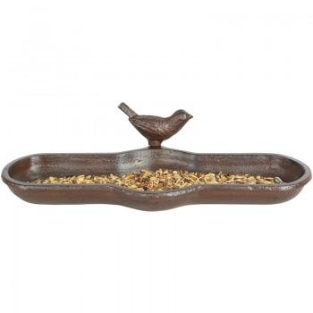 ref.DCT-BR25 - Bebedouro oval em caixa gift - Pássaro - com sementes