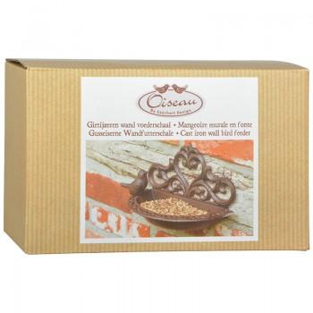 ref.DCT-BR26 - Comedouro de parede em caixa gift - Pássaro - gift box