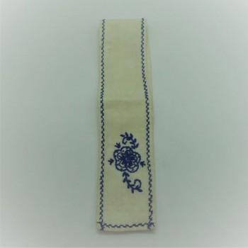 ref.050494-AZ - Gravata para garrafa - Azul