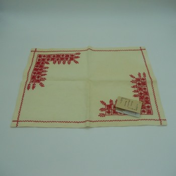 code 050495-EV - Tray cloth - Spike - Red
