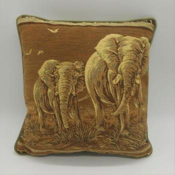 ref.050628-34X34 - Almofada elefante - 34x34 cm - frente