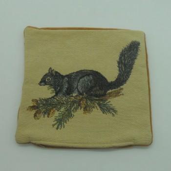 """ref.050622-25X25CM - Capa de almofada - """"Esquilo"""""""
