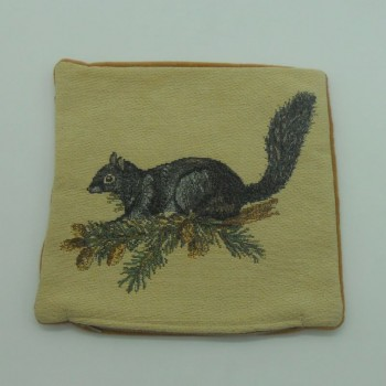 "code 050622-25X25CM - Cushion cover - ""Esquilo""/""Squirell"""