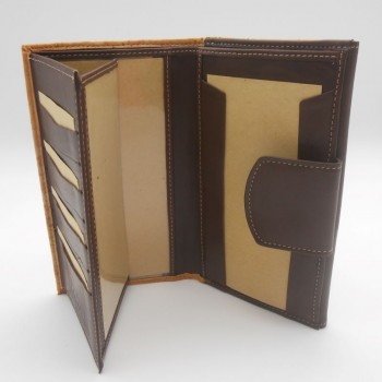 code 071817 - Cork leather and leather woman wallet