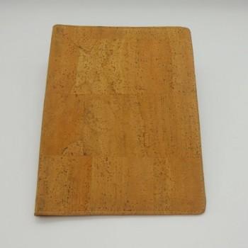 ref.071212-_CAPA - Capa em pele de cortiça para livro de notas/agenda