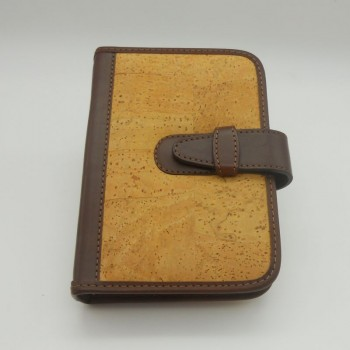 code 071815-CAPA - Cork leather and leather personal organizer cover - A5 Filofax