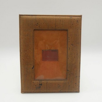 code 071209-N - Cork leather photo frame - Noir