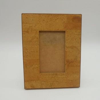 ref.071210 - Moldura grande em pele de cortiça - Fotos 15 cm