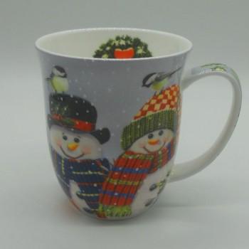 code DCT-AMB38405095- Mug - Snowman Couple