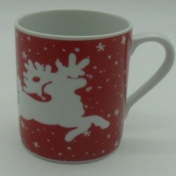 code 615586-EV- Mug -  Jingle Bell (red)