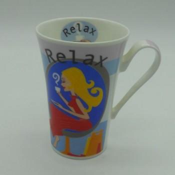code 900043- Mug - Relax Man