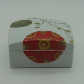 code 615766D - Square Box - Gold Christmas