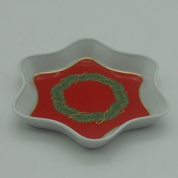 code 150021D-E - Ashtray  - Star - Noël