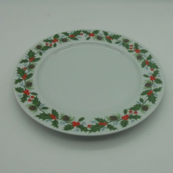 "code 615250 - Dinner plate Ø 30 cm - Azevinho/""Holly"""