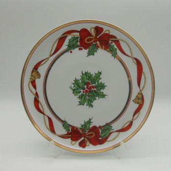 code 615729 - Pie plate - Holiday Splendour