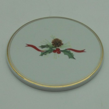 code 150094-G -Bottle coaster - Christmas Holly