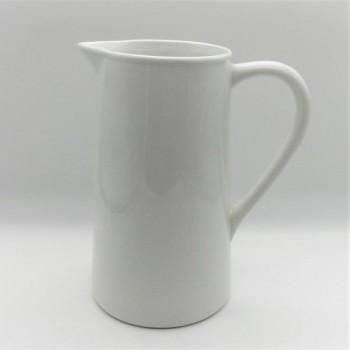 ref.800475B-Jarro para leite/água - branco liso (2ª escolha)