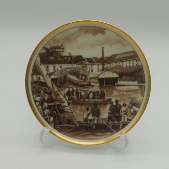 code 040022 - Small plate - ancient Lisbon