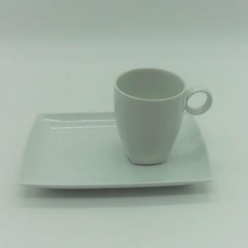 ref. 100090B-BR - Conjunto de pequeno almoço - Carré White