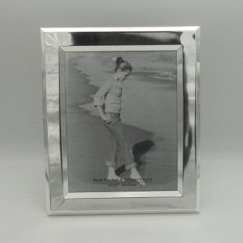 "code 030231 - Silver plated rectangular picture frame  8""x10"""