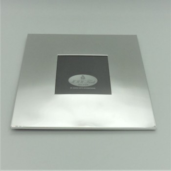 code 030232 - Silver plated square picture frame