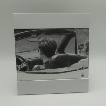 code 039236 - Acrylic picture frame with 2 bars