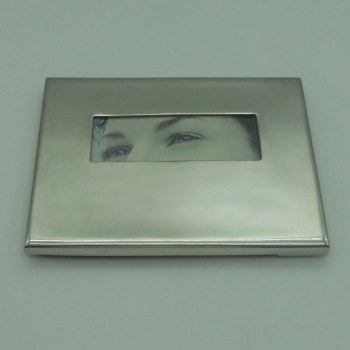 """code 031202-15x10- Tin picture frame 15x10 cm - """"Eyes"""""""