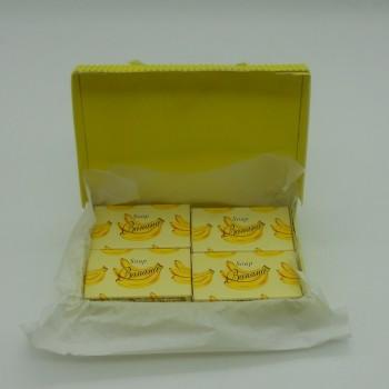 ref.048025-B-4-Mini conjunto gift de sabonetes nº1 - banana
