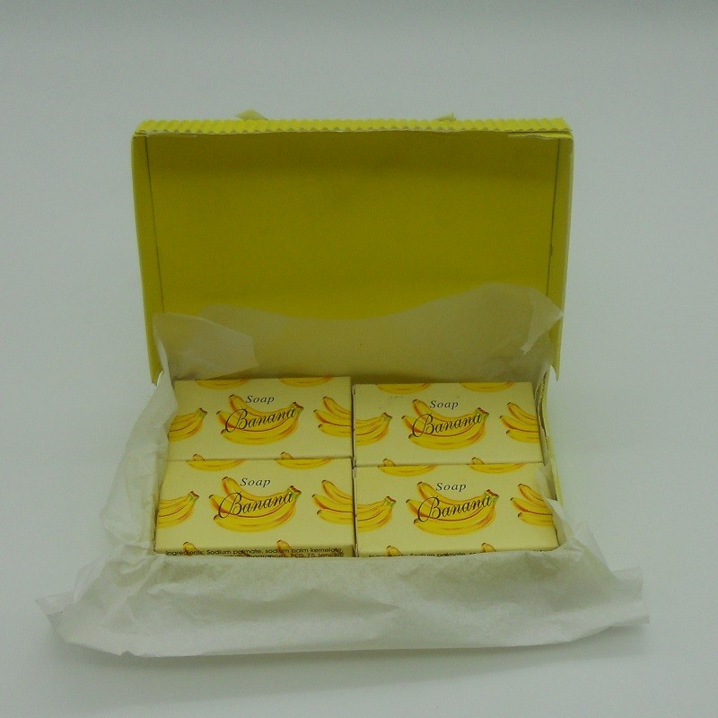 code 048025-B-4 - Mini soap gift set nº1 - banana