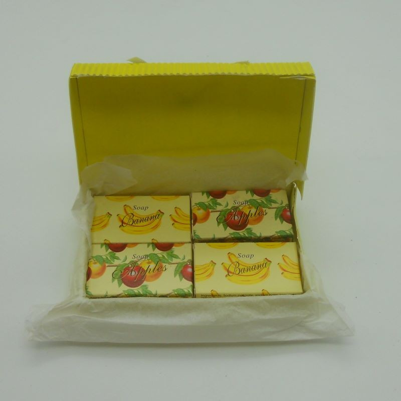 code 048025-B-2/A-2 - Mini soap gift set nº2 - banana and apple