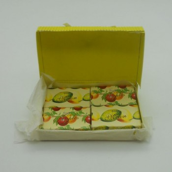 code 048025-A-2/M-2 - Mini soap gift set nº2 - apple and melon