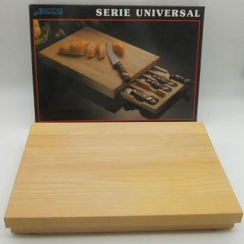 code 070003 - Cutting Board with Knives Set Case