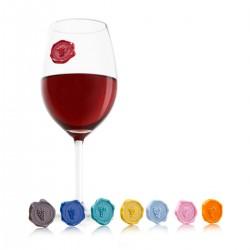 code-039038-GR-Glass marker-Grapes-set of 8