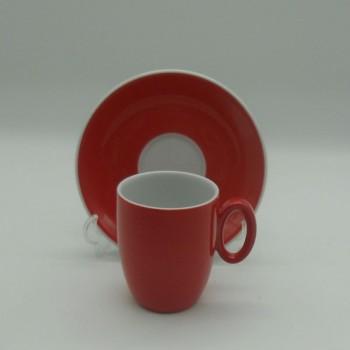 ref.800413-Conjunto de jantar para 4 pessoas - Chez Ana-chavena café  vermelho