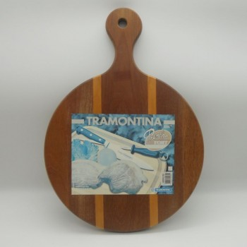 code 070006 - Round Cutting Board with Handle