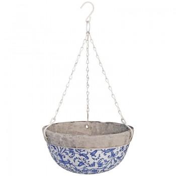 code DCT-AC03-Hanging basket - Blue/White