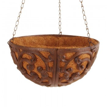 code DCT-BPH25 - Cast iron hanging basket - small