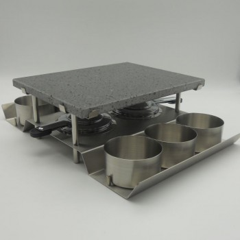 code 033041 - Stone grill - rectangular set