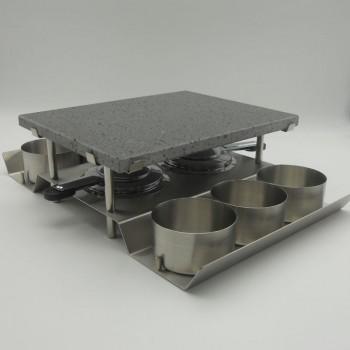 code 033041 - Stone grill - rectangular set