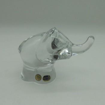 ref.005000-E - Elefante em Cristal da Bohemia