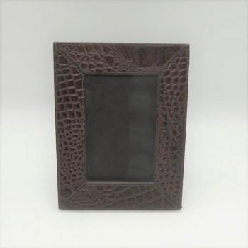 code 072204-Leather photo frame - 9x13 - 15 cm Photos