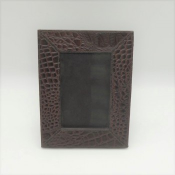 code 072204-Leather photo frame - 9x13 - 15 cm Photos