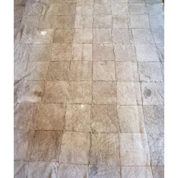 code 072401-180x240-Sheepskin mat - snowy grey- back
